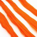 Single colour Specially dyed nylon, Nylon, Red orange, Stretched Size per piece 1.5m x 15cm, 4 pieces, [SWW0784]